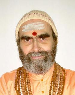 H.H Sri Swami Vishveshwarananda Saraswati President, Swami Omkarananda Saraswati Charitable Trust